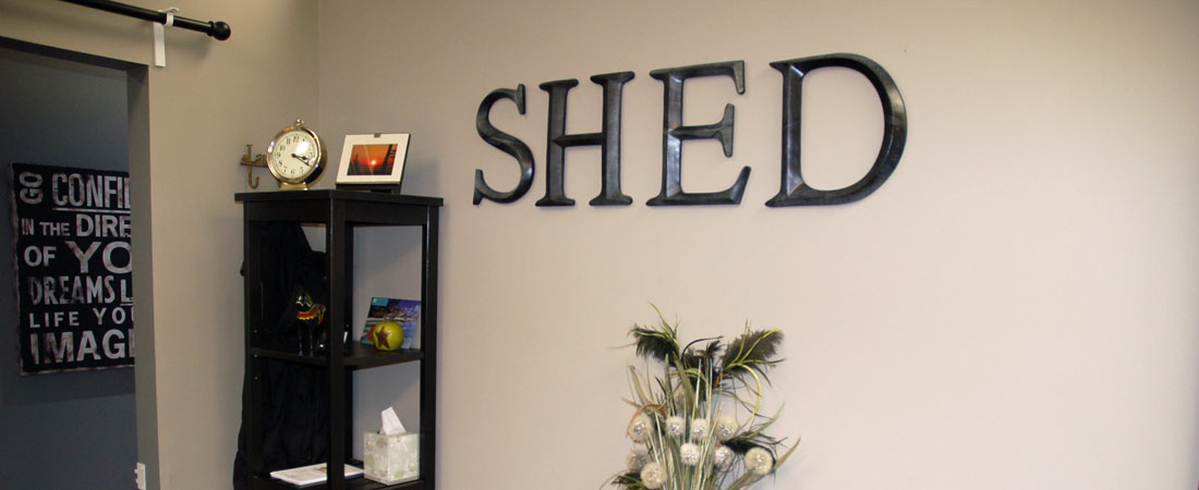 Banner for Shed Spa